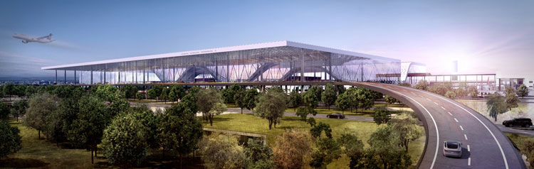SAW's new terminal development is expected to take place within the next two to three years