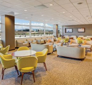 SJC East airport lounge