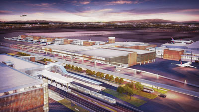 Salt Lake City International Airport terminal redevelopment