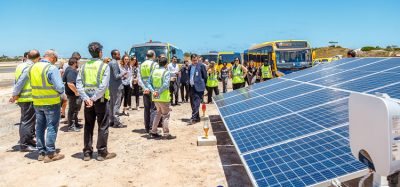 Installation of solar power plant underway at Salvador Airport