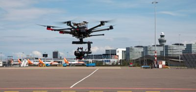 Inspection drone trials to be conducted at Amsterdam Airport Schiphol
