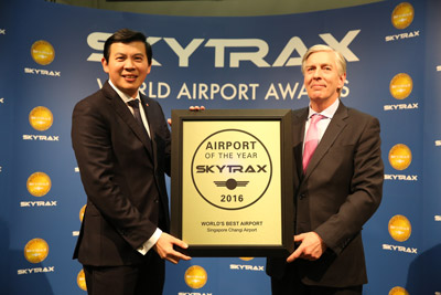 Singapore Changi Airport receives top accolade