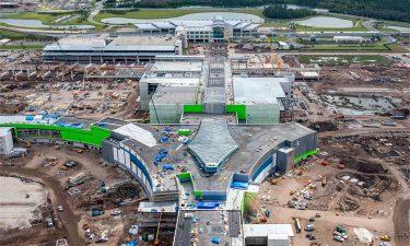 GOAA South Terminal C Phase I construction
