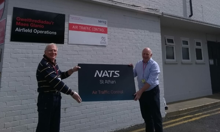 Air traffic control at St Athan Airport taken over by NATS