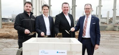 Construction begins on Swissport air cargo warehouse at Frankfurt Airport