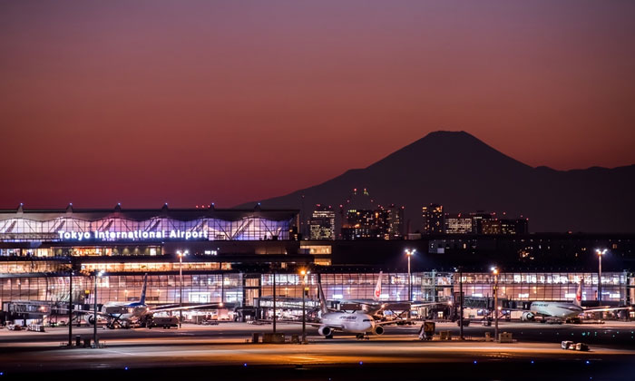 Tokyo Haneda Airport - 5th largest airport in the world by passenger number