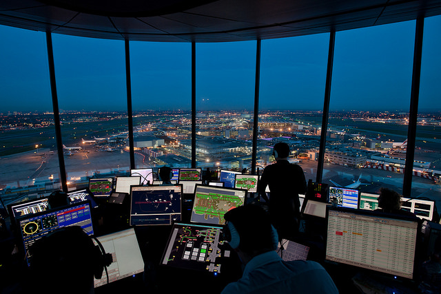 UK Air traffic increases in the first two months of 2015