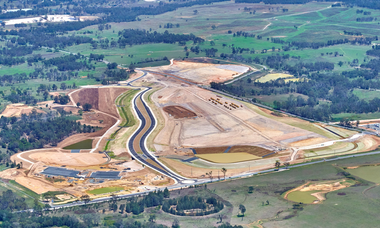 Western Sydney opens first phase of construction to the public