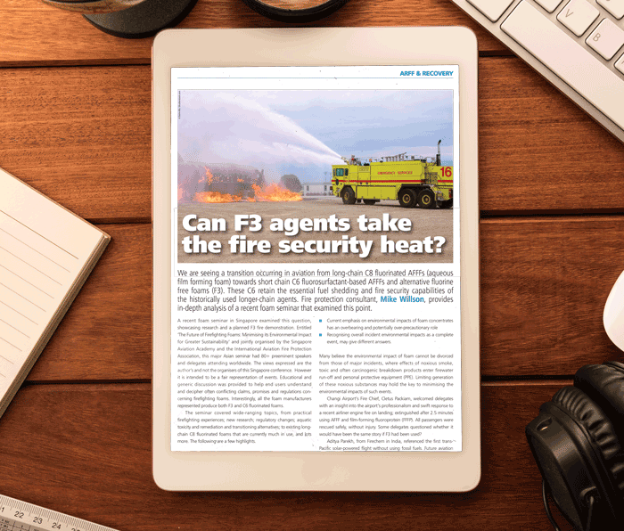 Whitepaper: Can F3 agents take the fire security heat?