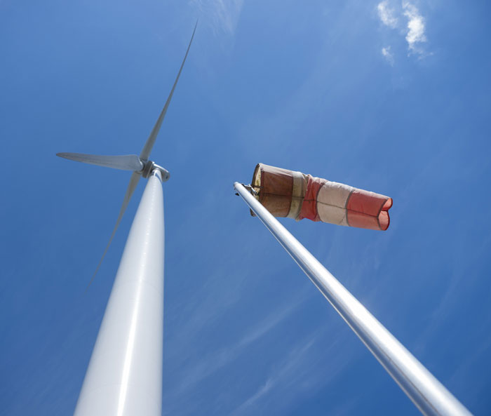 Wind farms and radars living together