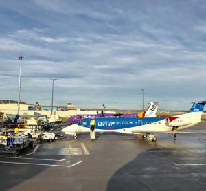 Aberdeen Airport celebrates increase in passenger numbers