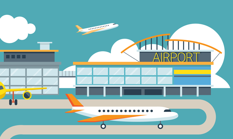What would happen if big-tech brands opened an airport?