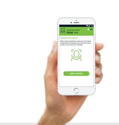 aena app enrols passenger to biometrics