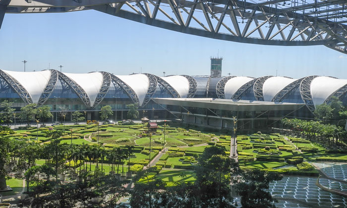 Bangkok Suvarnabhumi Airport - 20th largest airport in the world by passenger number
