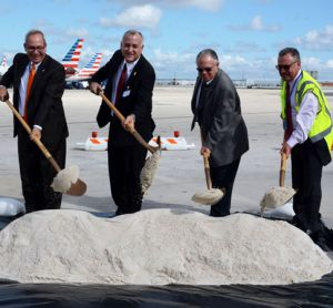 Ground broken on MIA Central Base renovation project