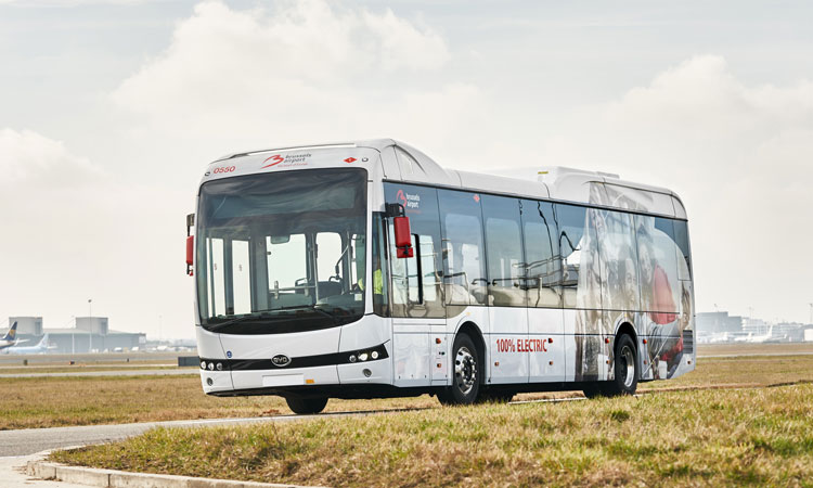 Brussels Airport to introduce electric buses into airside operations