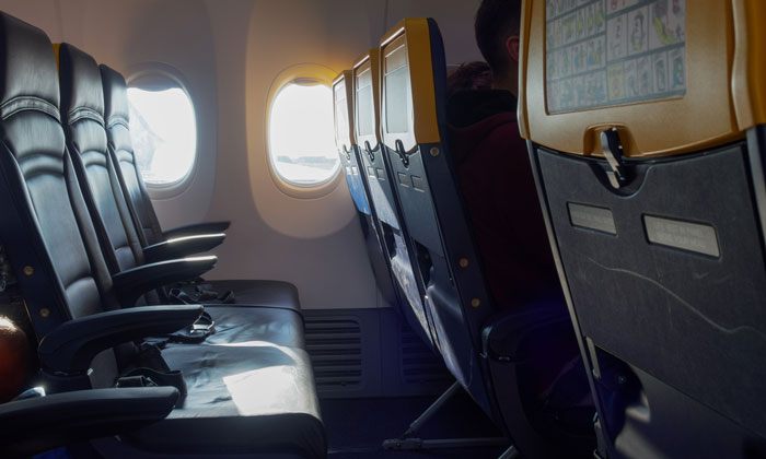 Low cost carriers avoid seat pockets to speed up cleaning time