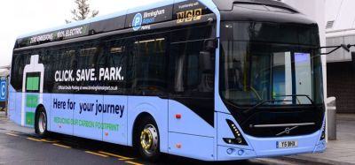 Birmingham Airport launches fully electric bus fleet