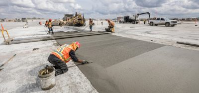 Low-carbon concrete project completed at Calgary International Airport