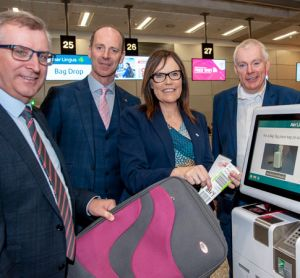 Cork Airport installs self-service bag tag and drop kiosks