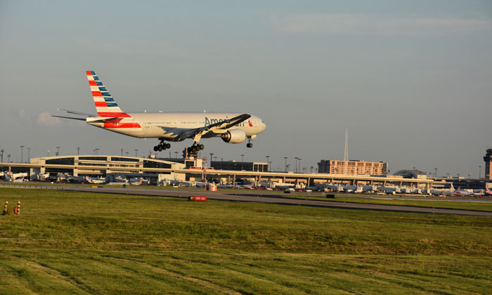 Dallas Fort Worth Airport - 11th largest airport in the world by passenger number