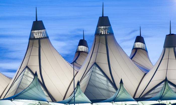 Denver International Airport - 18th largest airport in the world by passenger number