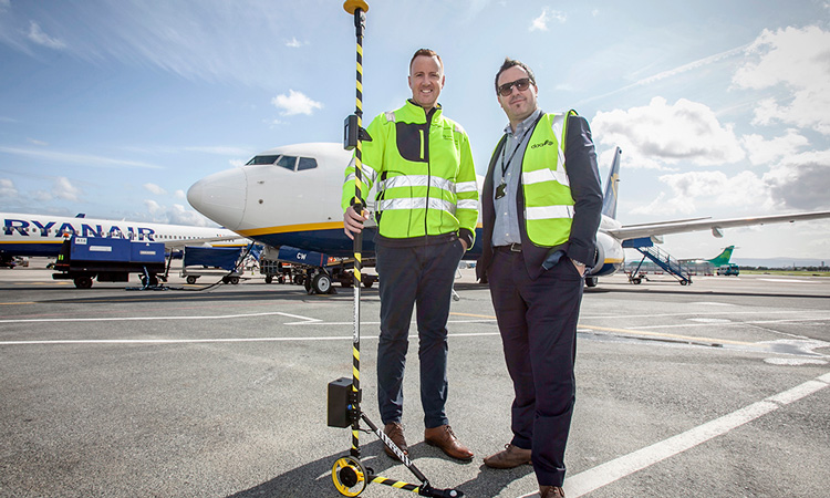 Aircraft parking safety illuminated with new light measuring device