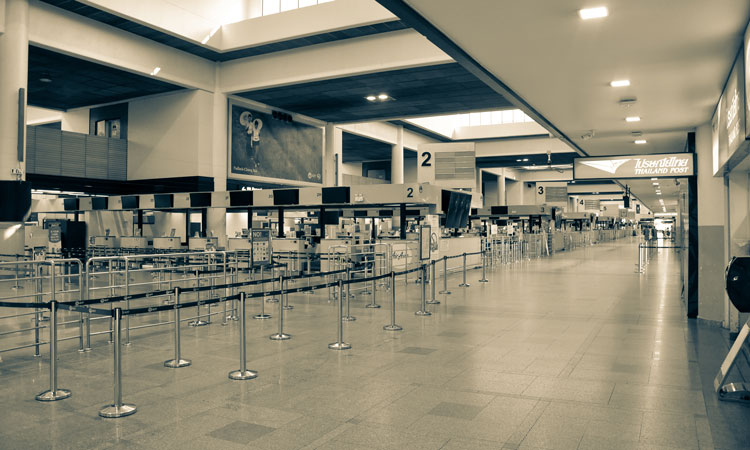 Airports and airlines are both feeling the impacts of diminishing passenger air travel demand