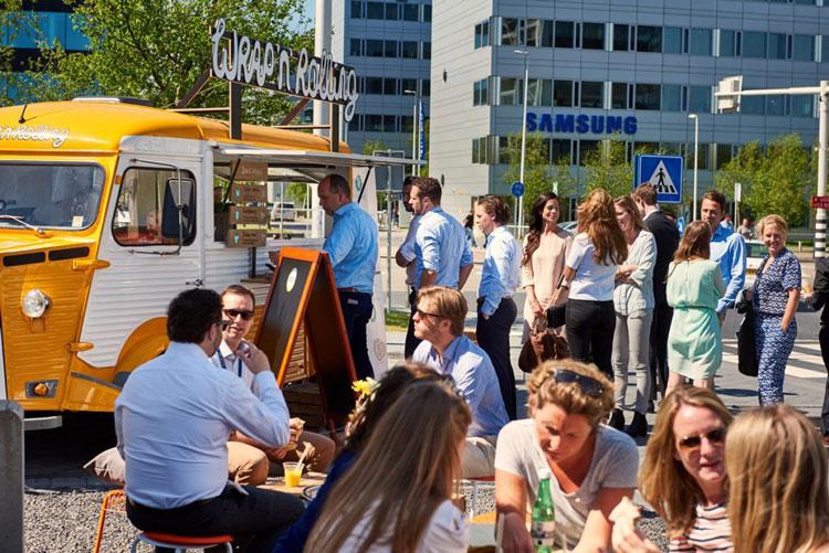 Ce food truck est un exemple de développement commercial côté ville