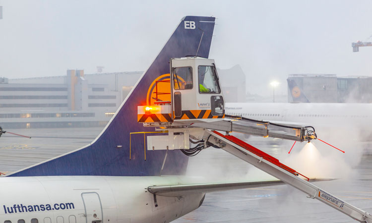 On standby: Winter operations at Frankfurt International Airport