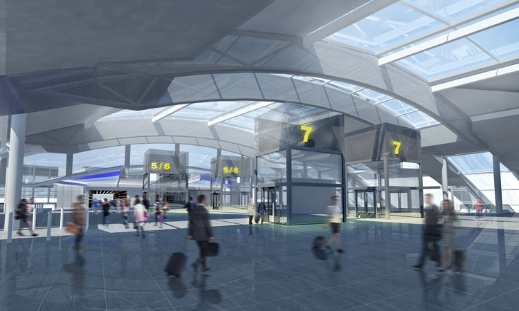 What Gatwick's new station is envisioned to look like