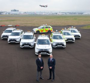 Glasgow Airport announces new £200,000 green vehicle fleet