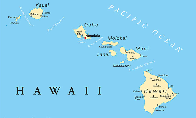 Kahului Hawaii Map.Transport Network In Hawaii To Begin Ride Share Service Between Islands