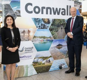New route launched between London Heathrow and Newquay Airport