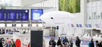 Fraport hybrid aerial vehicle tested at Frankfurt Airport