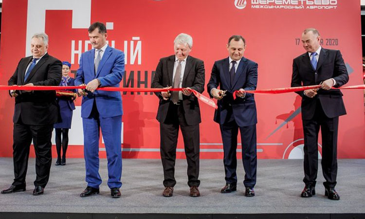 Sheremetyevo Airport officially opens newly built Terminal C