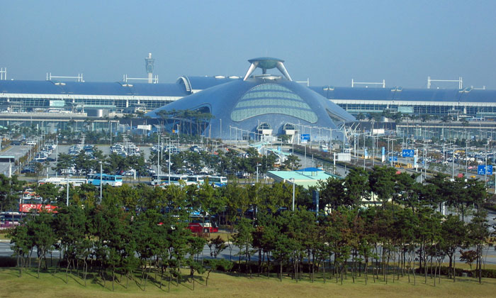 Seoul Incheon Airport - 19th largest airport in the world by passenger number