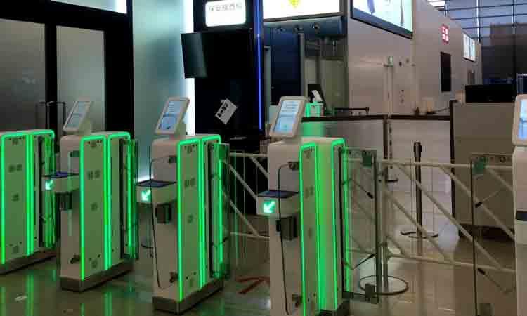 Kansai installs e-gates at entrance to airport security