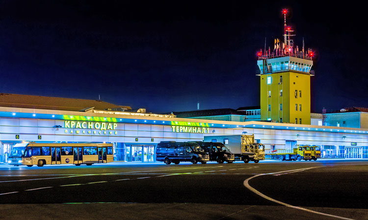 Krasnador Airport in Russia