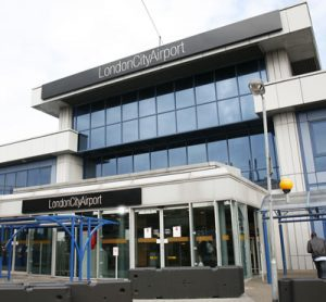 London City Airport entrance