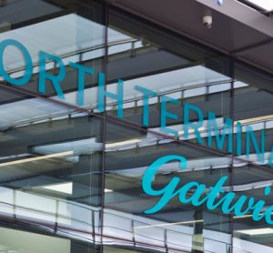 London Gatwick Airport North Terminal entrance