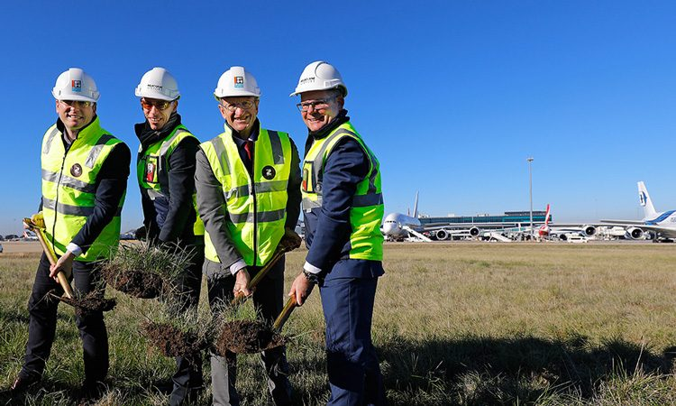 Construction on Melbourne Airport's new airfield begins