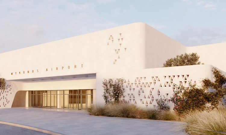 Fraport Greece reveal new design of Mykonos Airport
