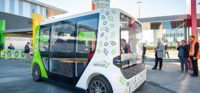 New Zealand's first autonomous shuttle debuts at Christchurch Airport