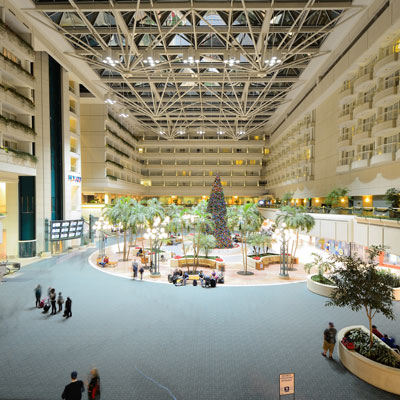 Orlando International Airport terminal building