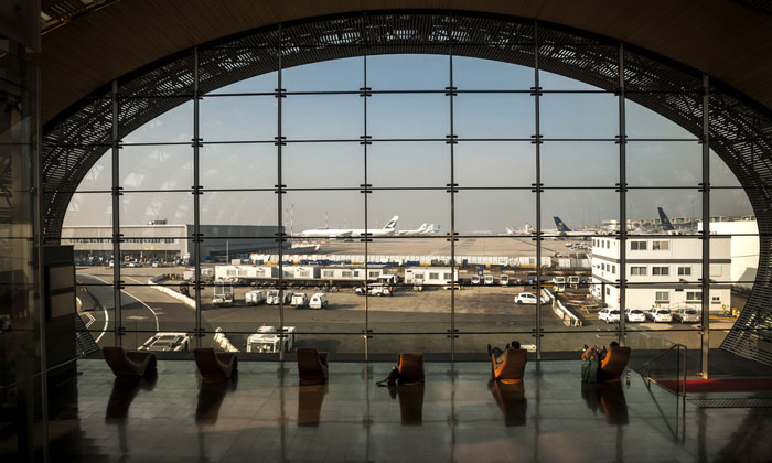 Paris Charles de Gaulle Airport - 10th largest airport in the world by passenger number