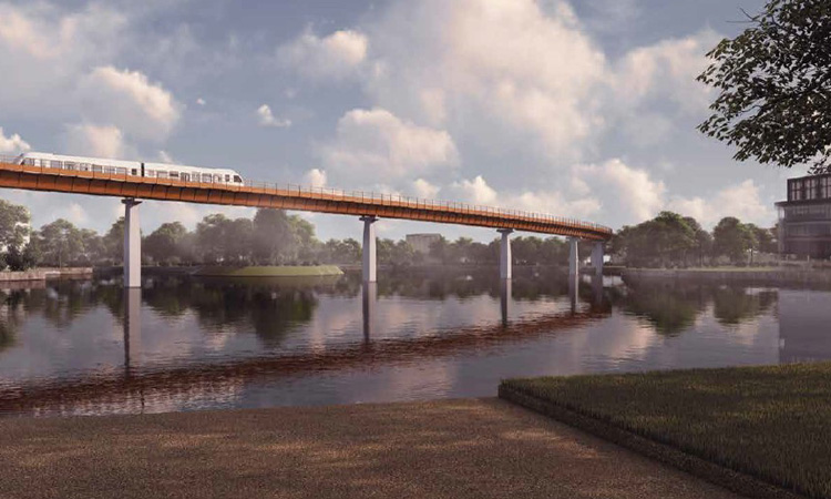HS2 reveals design for people mover with direct route to airport