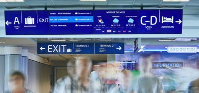 Prague Airport has introduced digital signage in six languages