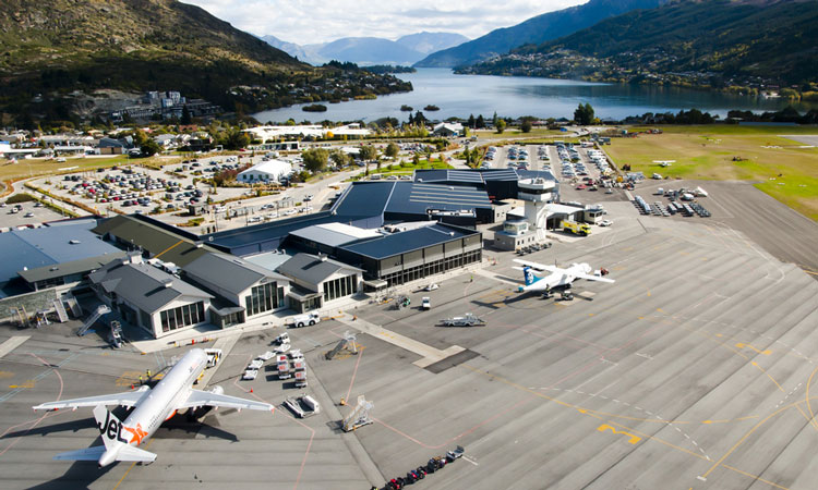 Recycling at the heart of the Queenstown Airport runway resealing