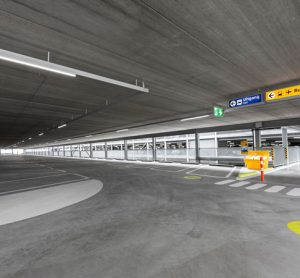 Schiphol has doubled the amount of covered parking at the airport